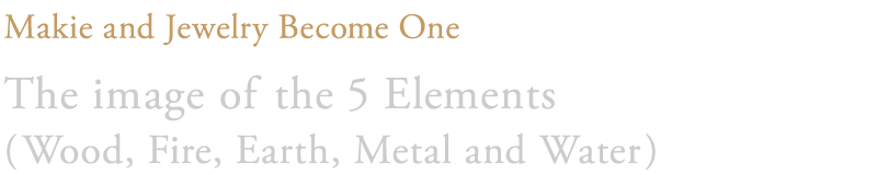 The image of the 5 Elements (Wood, Fire, Earth, Metal and Water)